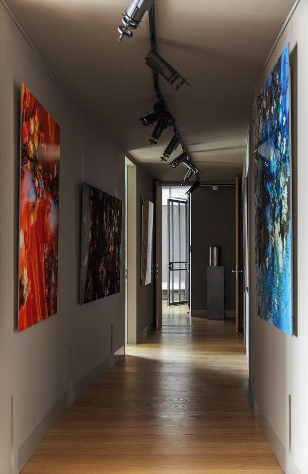 Фотография: Прихожая в стиле Хай-тек, Проект недели, Москва, Более 90 метров, #эксклюзивныепроекты, ЖК «Легенда Цветного», Ab-architects – фото на INMYROOM