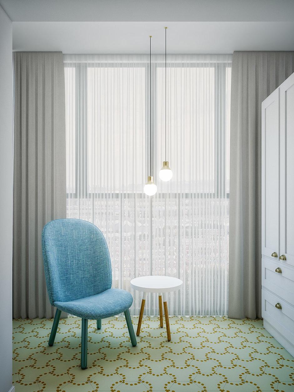 Фотография: Мебель и свет в стиле Скандинавский, Квартира, Проект недели, Москва, 4 и больше, 60-90 метров, «Точка дизайна» – фото на InMyRoom.ru