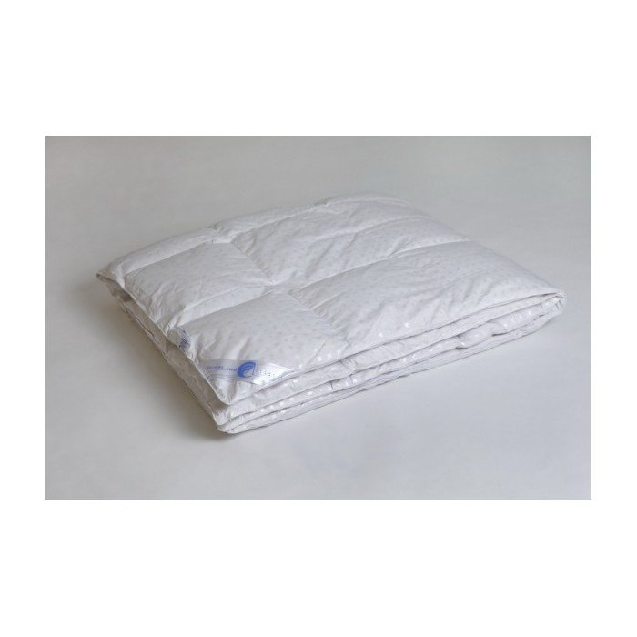 Одеяло пуховое кассетное теплое двухспальное Афродита