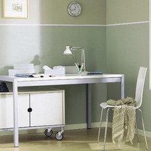 Фотография: Кабинет в стиле Минимализм, Декор интерьера, Мебель и свет – фото на InMyRoom.ru