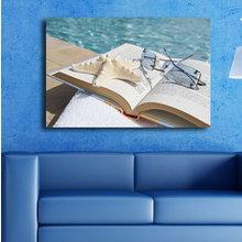 Декоративная картина на холсте: Открытая книга