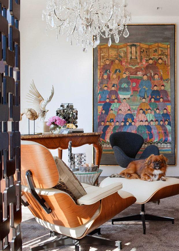Фотография: Гостиная в стиле Эклектика, Декор интерьера, Советы – фото на INMYROOM