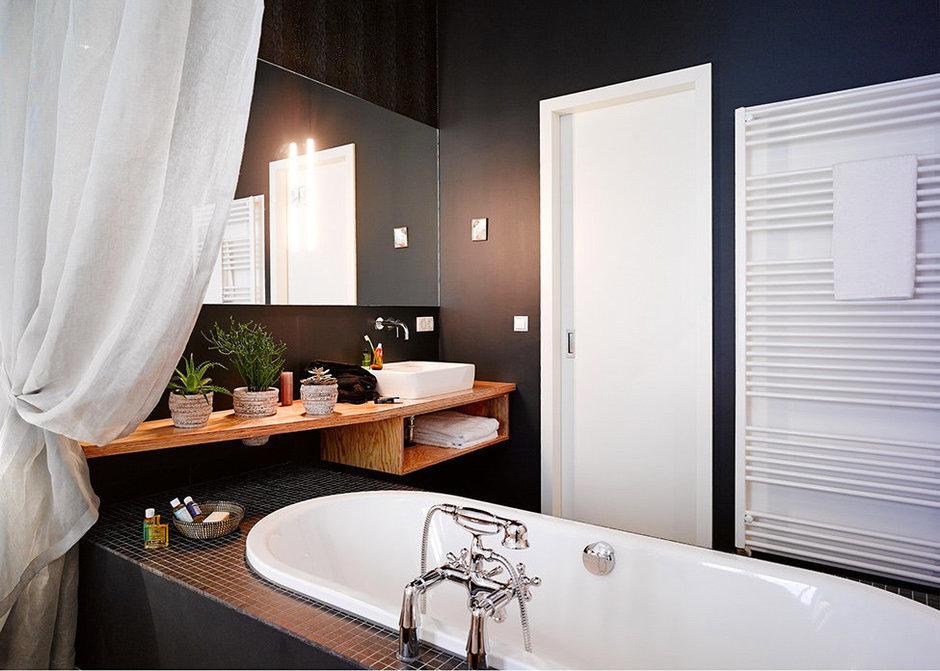 Фотография: Ванная в стиле Современный, Восточный, Квартира, Германия, Дома и квартиры – фото на InMyRoom.ru