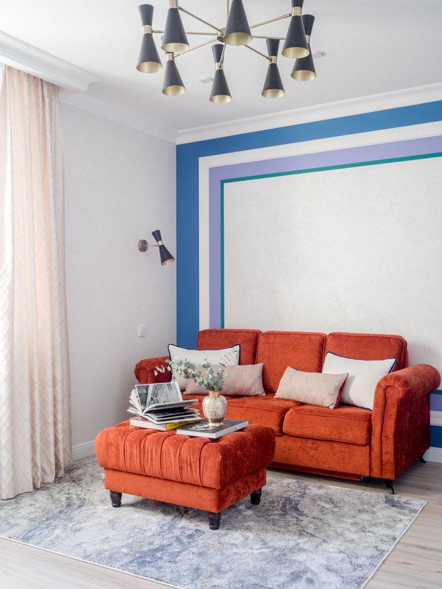 Фотография: Гостиная в стиле Классический, Современный, Проект недели – фото на INMYROOM