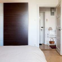 Фотография: Спальня в стиле Скандинавский, Современный, Декор интерьера, Малогабаритная квартира, Квартира, Дома и квартиры, Ремонт – фото на InMyRoom.ru