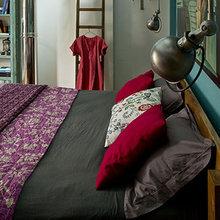 Фотография: Спальня в стиле Лофт, Квартира, Дома и квартиры, Париж – фото на InMyRoom.ru