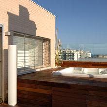 Фото из портфолио Penthause in the beach – фотографии дизайна интерьеров на INMYROOM