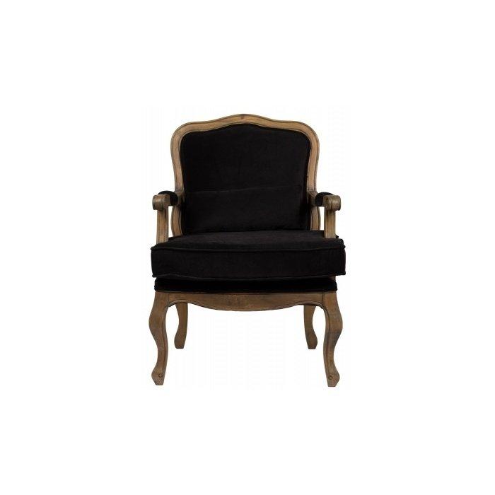 """Кресло """"Bella Cera"""" Черного цвета"""