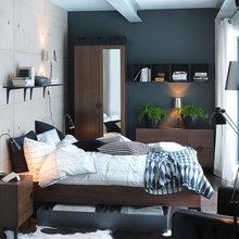 Фотография: Спальня в стиле Лофт, Современный, Интерьер комнат, IKEA – фото на InMyRoom.ru