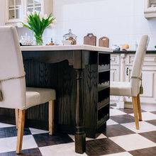 Фото из портфолио Кухня в загородном доме – фотографии дизайна интерьеров на INMYROOM