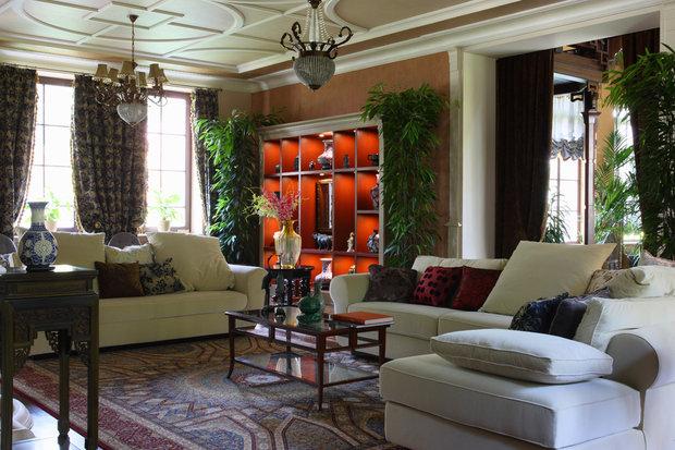 Фотография: Гостиная в стиле , Декор интерьера, Текстиль, Советы – фото на InMyRoom.ru