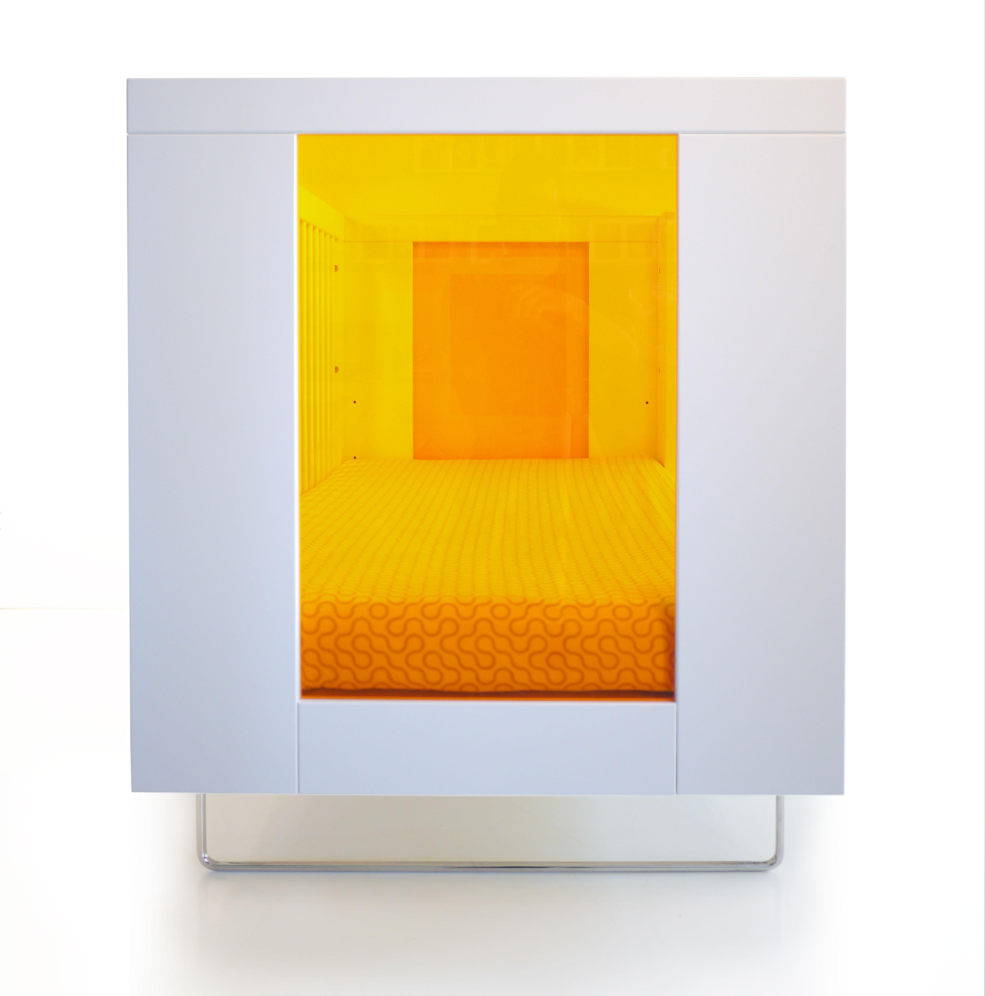 Кроватка Alto Tangerine Translucent Acrylic Spot on Square