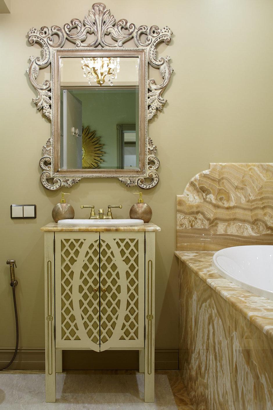 Фотография: Ванная в стиле , Классический, Эклектика, Квартира, Текстиль, Дома и квартиры – фото на InMyRoom.ru