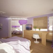 Фото из портфолио Романтичная спальня – фотографии дизайна интерьеров на InMyRoom.ru