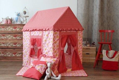 Эко-домик для детей : Маленьким принцессам и отважным путешественникам :)