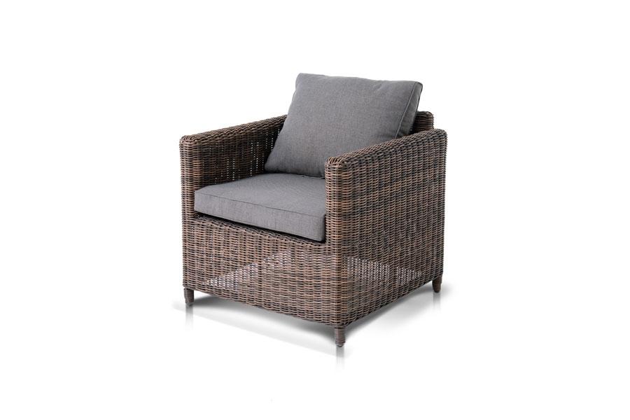 Кресло макиато шоколадного оттенка