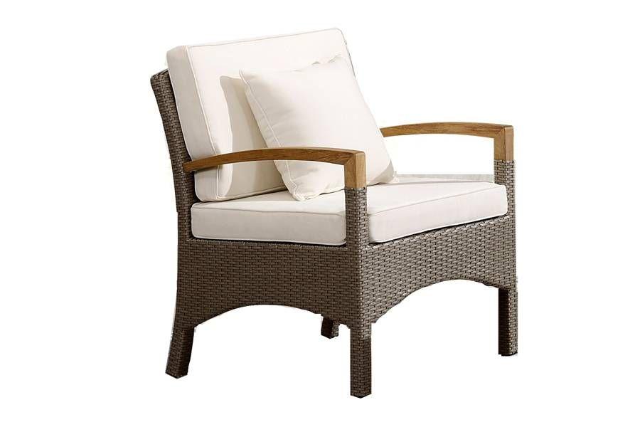 Кресло верона серо-коричневого цвета