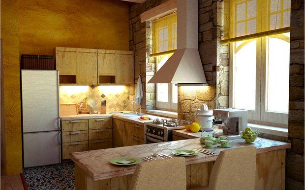 Фотография: Кухня и столовая в стиле Кантри, Современный, Советы, Ремонт на практике – фото на InMyRoom.ru