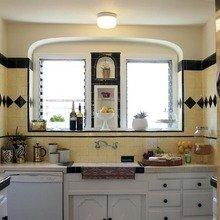 Фотография: Кухня и столовая в стиле Восточный, Дом, Дома и квартиры, Ретро, Плитка, Ар-деко, Лос-Анджелес – фото на InMyRoom.ru