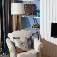 Фотография: Мебель и свет в стиле Кантри, Спальня, Интерьер комнат – фото на InMyRoom.ru