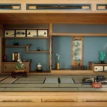 Фотография: Гостиная в стиле Восточный, Декор интерьера, Декор дома, Японский – фото на InMyRoom.ru