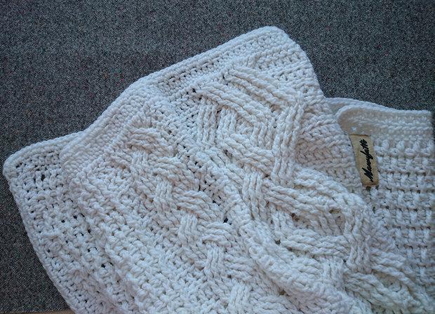 Пледы. Интерьерное вязание.