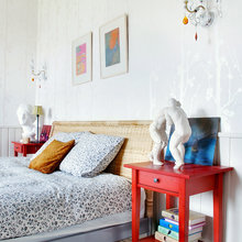 Фотография: Спальня в стиле , Кантри, Дом, Дома и квартиры, Проект недели, Дача – фото на InMyRoom.ru