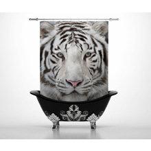 Штора для ванной: Тигруля