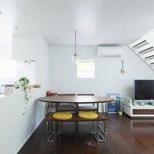 Фотография: Кухня и столовая в стиле Минимализм, Дом, Дома и квартиры, Япония – фото на InMyRoom.ru
