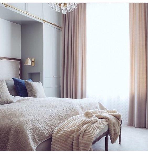 Фотография: Спальня в стиле , Декор интерьера, Зеленый, Бежевый, Серый, Розовый, Голубой – фото на InMyRoom.ru
