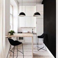 Фотография: Кухня и столовая в стиле Современный, Эко, Малогабаритная квартира, Квартира, Мебель и свет, дизайн маленькой кухни, как обустроить маленькую кухню, идеи для маленькой кухни, kuhnya-8-kv-metrov – фото на InMyRoom.ru
