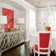 Фотография: Кухня и столовая в стиле Кантри, Декор интерьера, Дом, Декор, Декор дома, Цвет в интерьере – фото на InMyRoom.ru