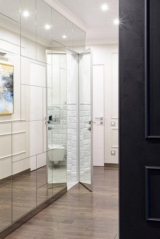 Фотография: Прихожая в стиле Современный, Классический, Квартира, Проект недели, Новосибирск, 4 и больше, 60-90 метров, Art Twins Design, Тая Акулова, Глеб Скотников – фото на INMYROOM
