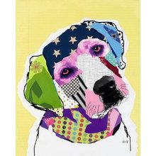 Картина (репродукция, постер): Dog №2 - Майкл Кек