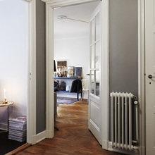 Фотография: Прихожая в стиле Скандинавский, Декор интерьера, Малогабаритная квартира, Квартира, Мебель и свет – фото на InMyRoom.ru