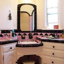 Фотография: Ванная в стиле Восточный, Дом, Дома и квартиры, Ретро, Плитка, Ар-деко, Лос-Анджелес – фото на InMyRoom.ru