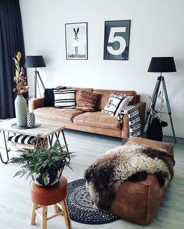 Фотография: Гостиная в стиле Скандинавский, Советы, уборка квартиры, как избавиться от пыли – фото на InMyRoom.ru
