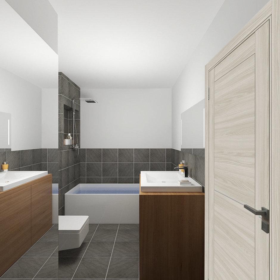 Фотография: Ванная в стиле Современный, Минимализм, Квартира, Проект недели – фото на InMyRoom.ru