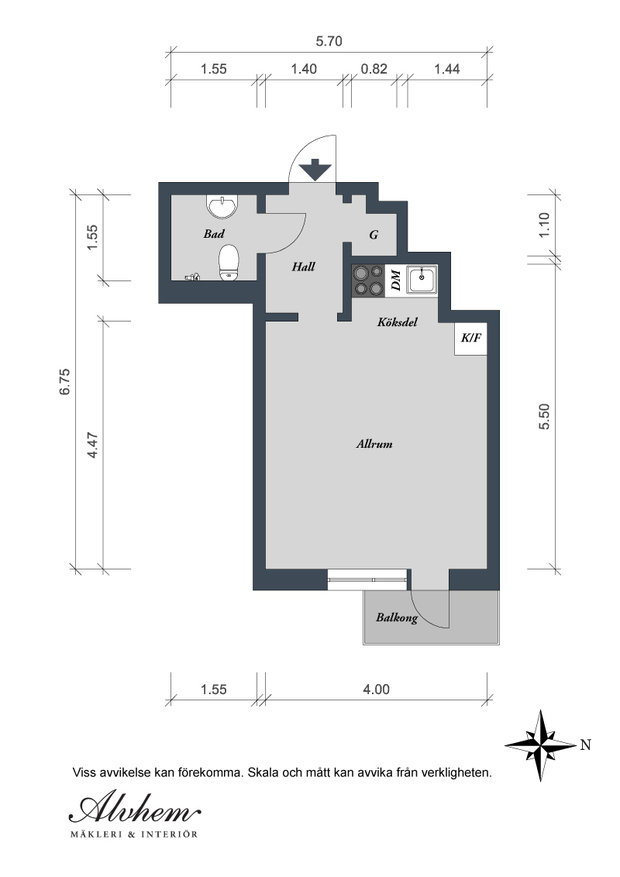 Фотография: Прочее в стиле , Малогабаритная квартира, Квартира, Швеция, Мебель и свет, Дома и квартиры – фото на InMyRoom.ru