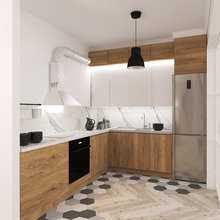 Фото из портфолио Квартира 80кв.м. в Скандинавском стиле – фотографии дизайна интерьеров на INMYROOM