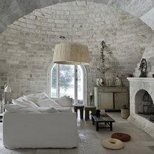 Фотография: Гостиная в стиле Кантри, Лофт, Декор интерьера, Декор дома, Стены – фото на InMyRoom.ru