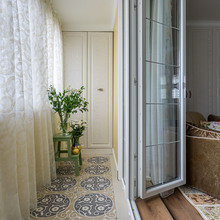 Фотография: Балкон в стиле Кантри, Малогабаритная квартира, Квартира, Проект недели, Наталья Сытенкова – фото на InMyRoom.ru