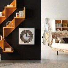 Фотография: Мебель и свет в стиле Современный, Декор интерьера, Декор дома, Библиотека – фото на InMyRoom.ru