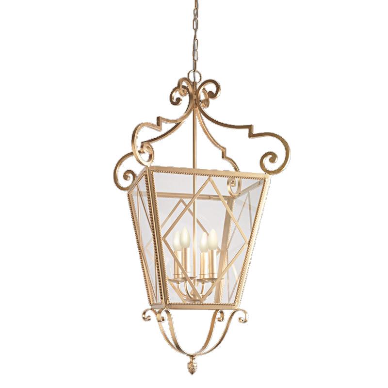 Купить Подвесной светильник Eurolampart Art Deco с каркасом из металла золотого цвета, inmyroom, Италия