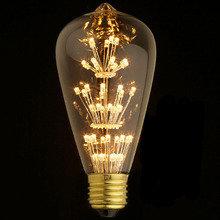Лампа светодиодная прозрачная колба