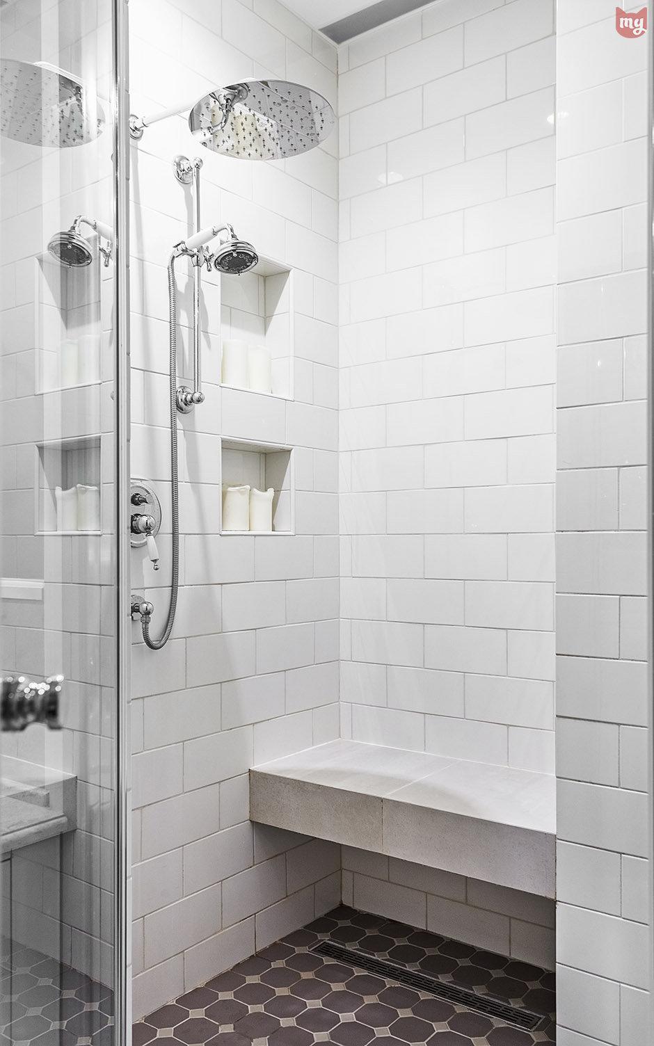 Фотография: Ванная в стиле Прованс и Кантри, Квартира, Проект недели, Наталья Сорокина – фото на InMyRoom.ru