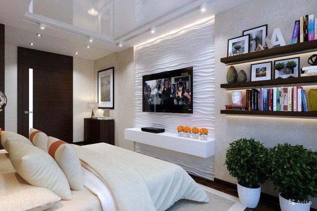 Фотография: Спальня в стиле Современный, Гостиная, Декор интерьера, Советы – фото на InMyRoom.ru