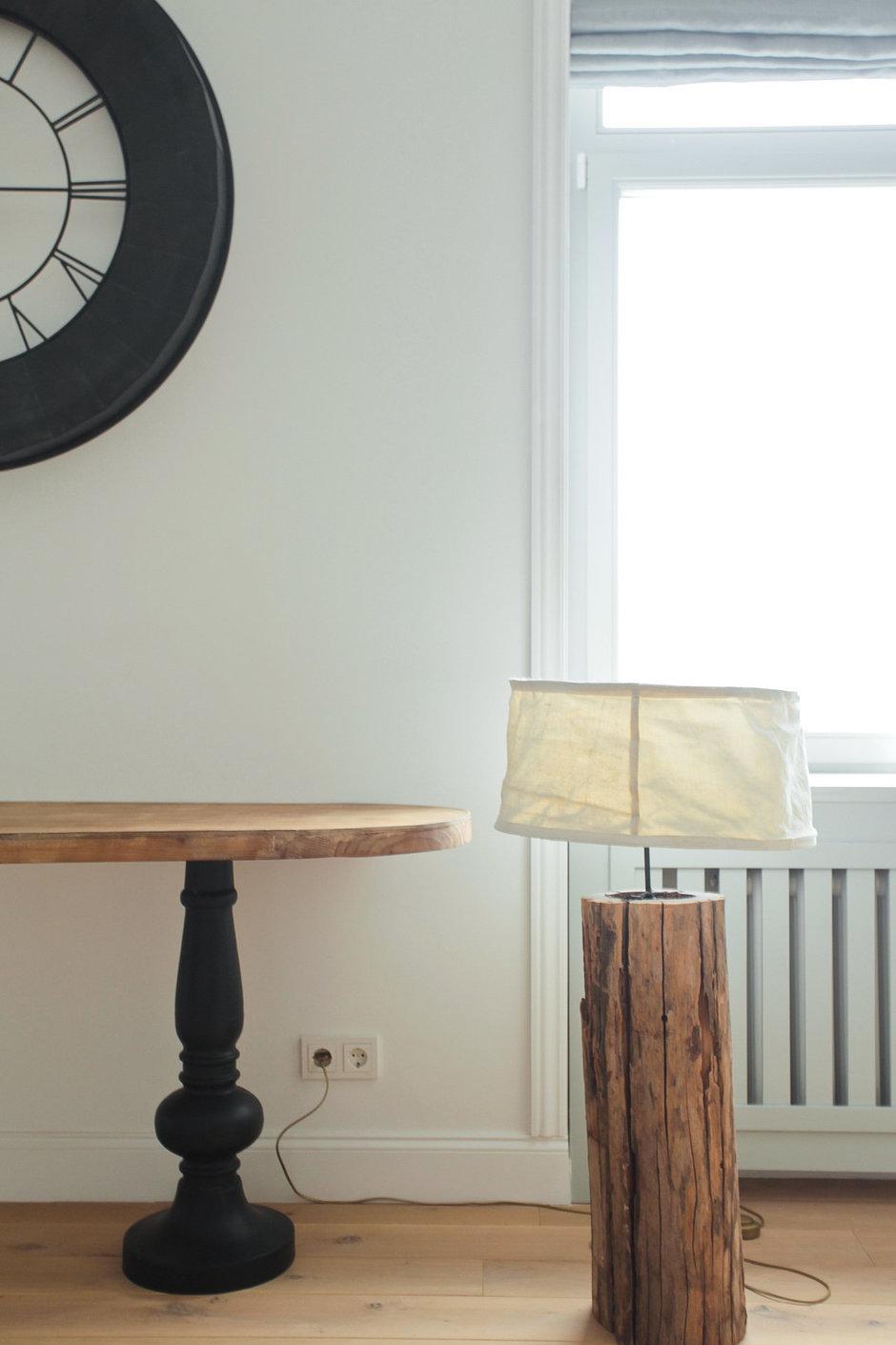 Фотография:  в стиле , Классический, Скандинавский, Квартира, Проект недели, Бежевый, Серый, ИКЕА, Екатерина Корчинова, Сталинка – фото на InMyRoom.ru