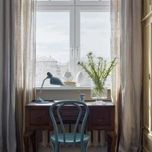Фотография: Кабинет в стиле Кантри, Проект недели, Москва, Сталинка, 3 комнаты, 60-90 метров, Инна Зольтманн – фото на InMyRoom.ru