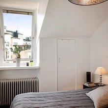 Фотография: Спальня в стиле Скандинавский, Современный, Декор интерьера, Малогабаритная квартира, Квартира, Швеция, Дома и квартиры – фото на InMyRoom.ru